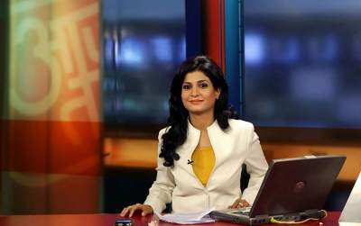 Anjana Om Kashyap Aaj Tak